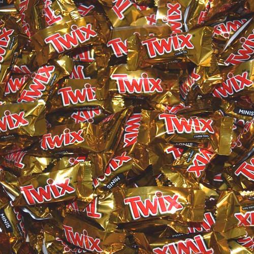 Twix Caramel Mini's 20lb Bulk
