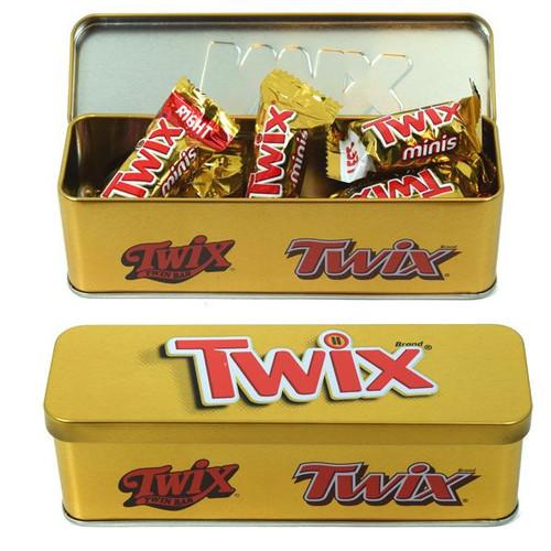 Twix Nostalgic Holiday Gift Tin