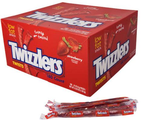 Twizzler Strawberry Twists Singles 180ct