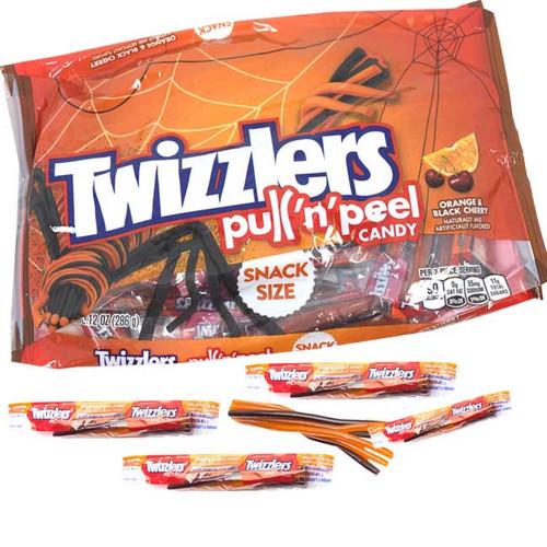 Twizzler Pull & Peel Orange Black Cherry