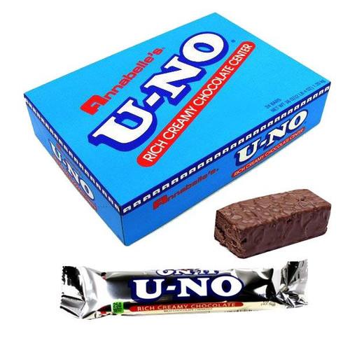 U-NO Chocolate Bars 24 Count
