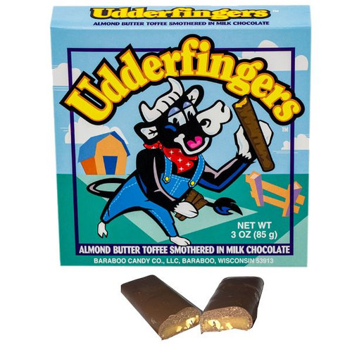 Udderfingers Chocolate Toffee 3oz