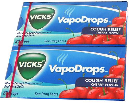 Vicks Cough Drops 20Ct - Cherry