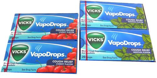 Vicks Cough Drops 20 Count Choose Flavor