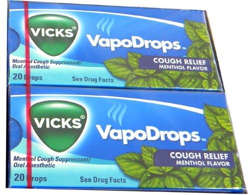 Vicks Cough Drops 20Ct - Menthol