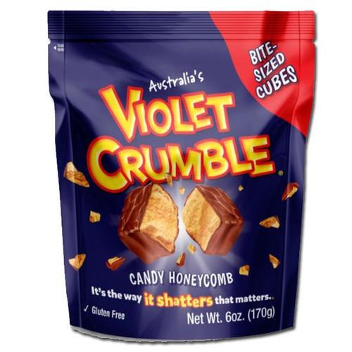 Violet Crumble Cubes 6oz Bag