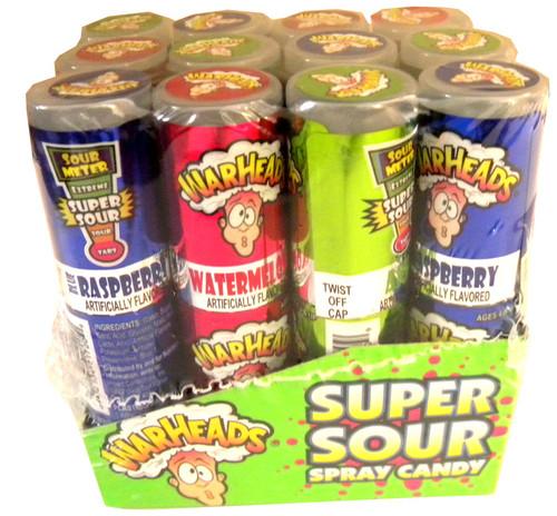 WarHeads Super Sour Spray 12ct