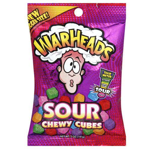 Warheads Sour Chewy Cubes 5oz