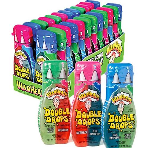 Warheads Super Sour Double Drops 24 Count