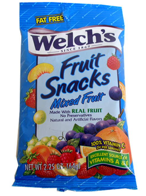 Welch's Mixed Fruit Snacks 2.25oz