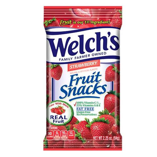 Welches Fruit Snacks Strawberry 2.25oz bag