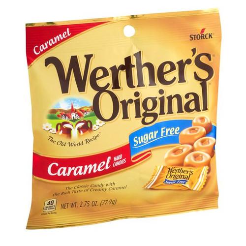 "Werther's ""Sugar Free"" 2.75oz Bag"