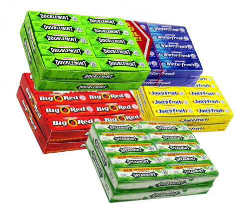 Wrigley's Chewing Gum  40ct - Choose Favorite