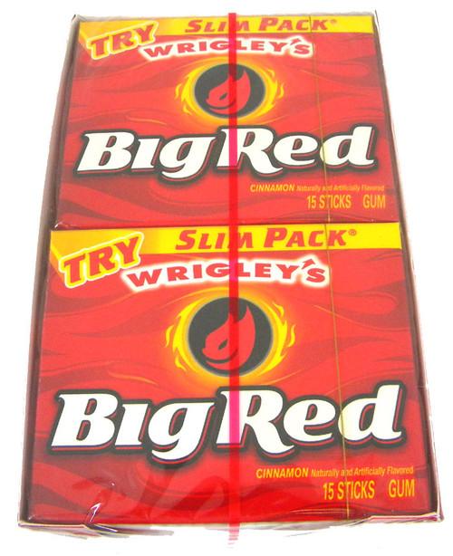 Wrigley's Gum Slim Pack - Big Red