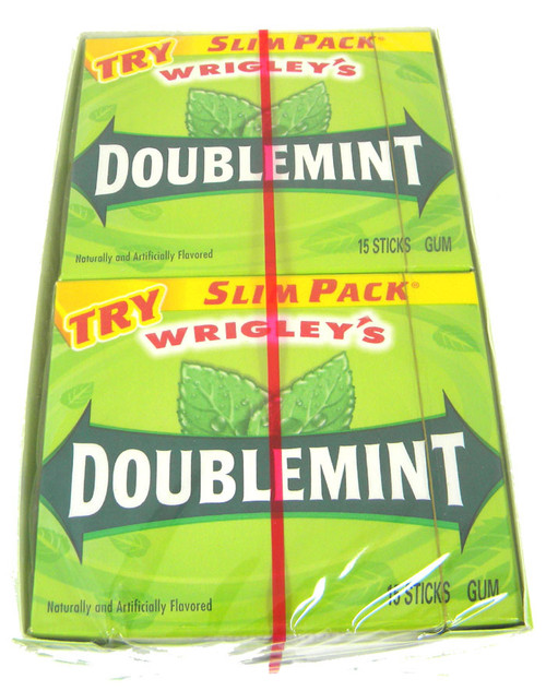 Wrigley's Gum Slim Pack - Doublemint