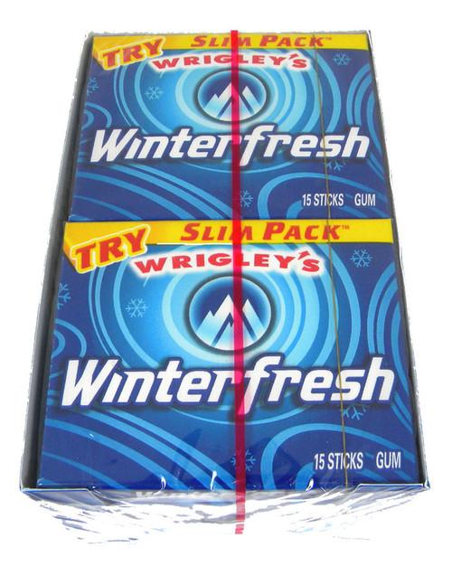 Wrigley's Gum Slim Pack - Winterfresh