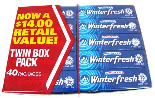 Wrigley's Chewing Gum - Winterfresh