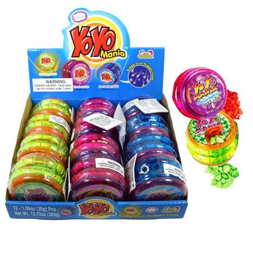 YO YO Mania Toy With Gum 12 Count