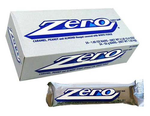 Zero Candy Bar 24ct