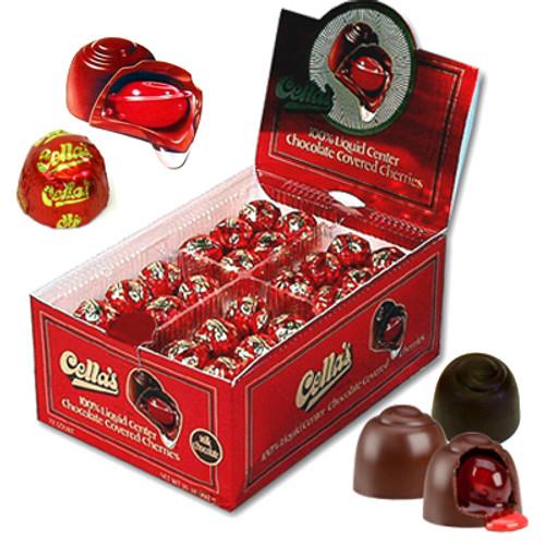 Cella Dark Chocolate covered cherries