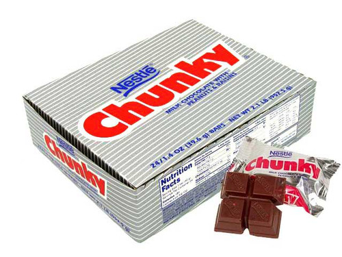 CHUNKY CANDY BAR 24CT