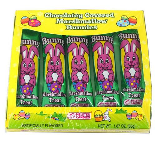 Chocolate Covered Marshmallow Bunnies 5pk