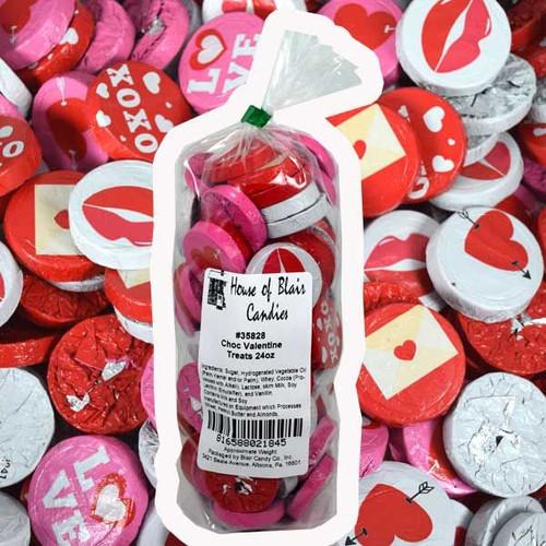 Chocolate Valentine's Treats 24oz Bag