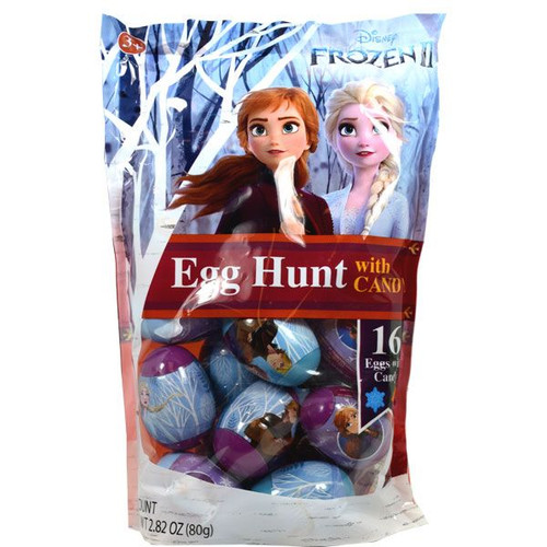 Disney Frozen II Eggs With Candy 16 Count