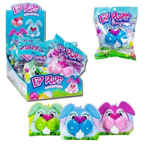 Bunny Lip Lollipops 12 Count