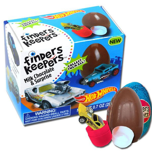 Finders Keepers Hot Wheel Egg Toy