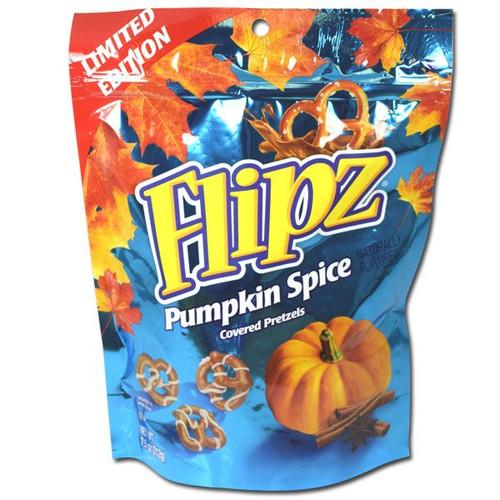 Flipz Pumpkin Spice Chocolate Pretzels 7.5oz