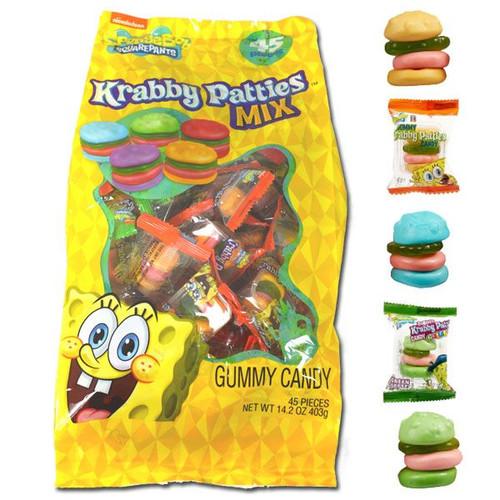SpongeBob Krabby Patty Assorted 45 Count