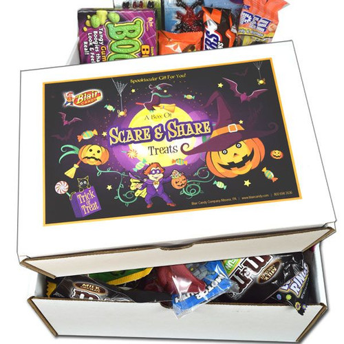 Halloween Scare & Share Candy Gift Box
