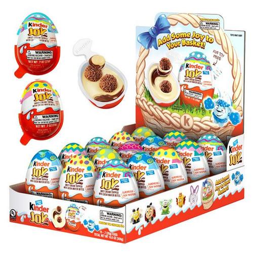 Kinder Joy Easter Eggs 15 Count