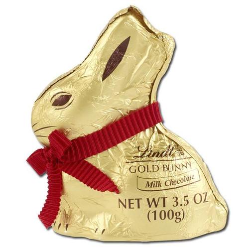Lindt Milk Chocolate Gold Bunny 3.5oz
