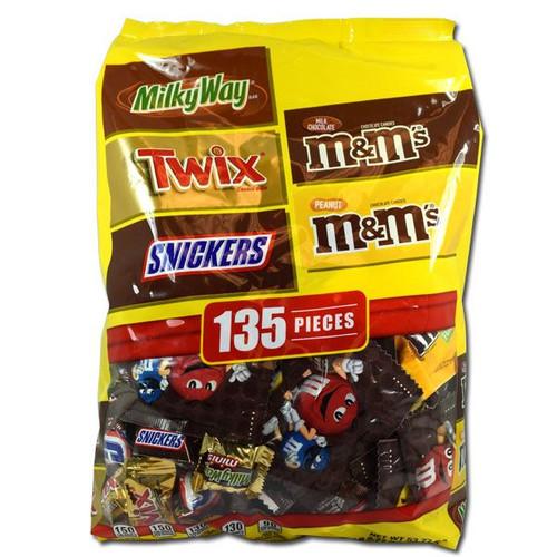 Mars Chocolate Variety Mix 135 Count
