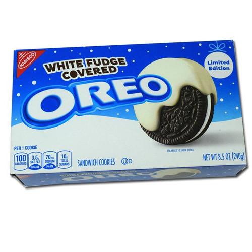 Oreo White Fudge Christmas 8.5oz