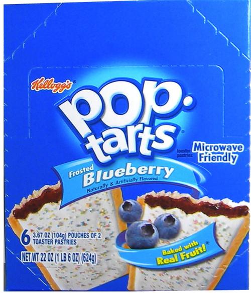 Pop Tarts 6pk - Blueberry