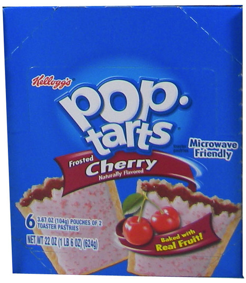 Pop Tarts Frosted Cherry 6ct