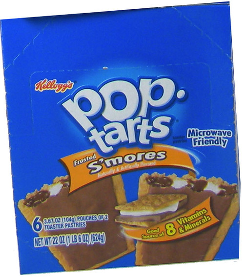 Pop Tarts Frosted Smores 6ct