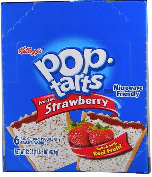 Pop Tarts 6pk - Strawberry