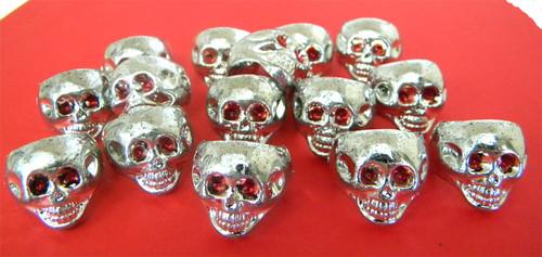 Skull Rings 144ct  (Plastic)