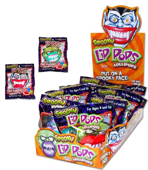 Spooky Lip Pops 12 Count