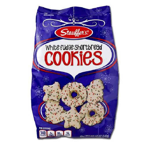 Stauffers White Fudge Holiday Cookies 12oz