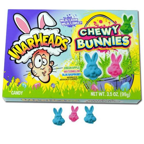 WarHeads Chewy Bunnies 3.5oz Box