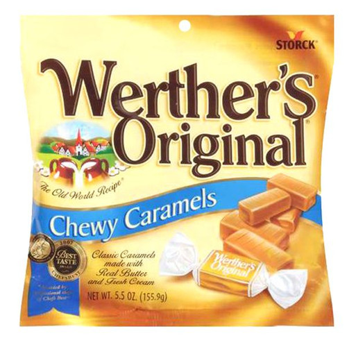 Werther's CHEWY Caramels 5.5oz Bag