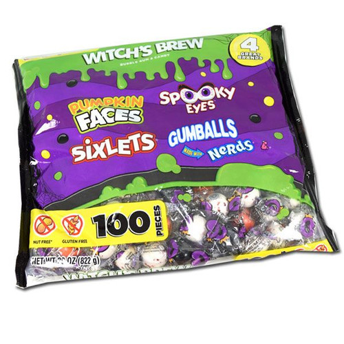 Witches Brew Assorted Halloween Candy 100 Count