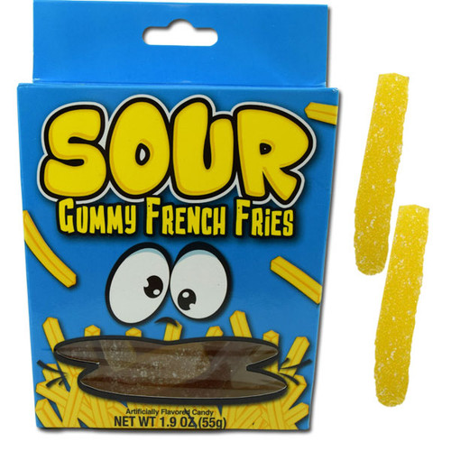 Sour Gummy French Fries 1.9oz