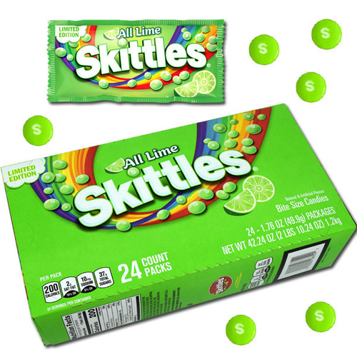 Skittles Lime 24 Count Limited Edition