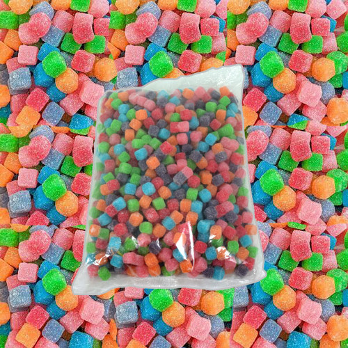 Warheads Chewy Cubes Bulk 5lb